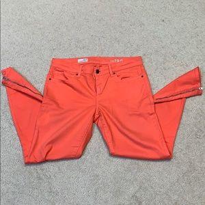GAP 1969 Flamingo color leggings jeans